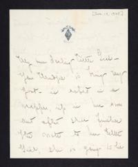 Letter from Mary Woolley to Jeannette Marks, 1905 January 17