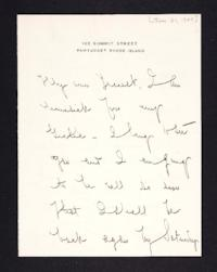 Letter from Mary Woolley to Jeannette Marks, 1905 January 31