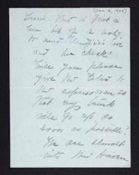 Letter from Mary Woolley to Jeannette Marks, 1905 January 2