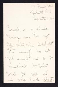 Letter from Mary Woolley to Jeannette Marks, 1905 September 11