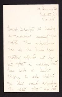 Letter from Mary Woolley to Jeannette Marks, 1905 September 13