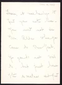 Letter from Mary Woolley to Jeannette Marks, 1906 January 18