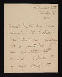 Letter from Mary Woolley to Jeannette Marks, 1906 April 30