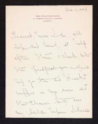 Letter from Mary Woolley to Jeannette Marks, 1908 February 14
