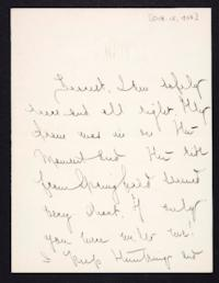 Letter from Mary Woolley to Jeannette Marks, 1908 October 15