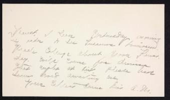 Letter from Mary Woolley to Jeannette Marks, 1908 October 19