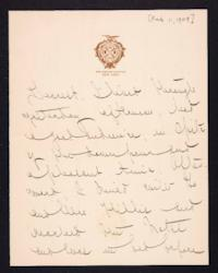Letter from Mary Woolley to Jeannette Marks, 1909 February 11