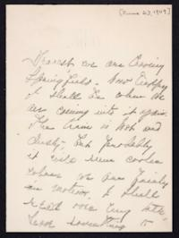 Letter from Mary Woolley to Jeannette Marks, 1909 June 23