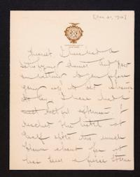 Letter from Mary Woolley to Jeannette Marks, 1910 January 21