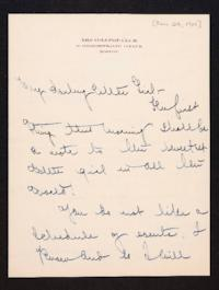 Letter from Mary Woolley to Jeannette Marks, 1910 January 28