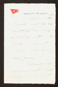 Letter from Mary Woolley to Jeannette Marks, 1910 September 3