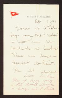 Letter from Mary Woolley to Jeannette Marks, 1910 September 10