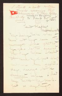Letter from Mary Woolley to Jeannette Marks, 1910 September 11