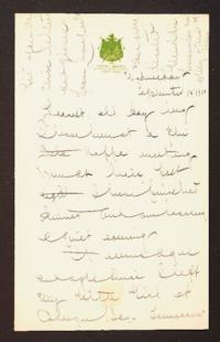Letter from Mary Woolley to Jeannette Marks, 1910 September 13