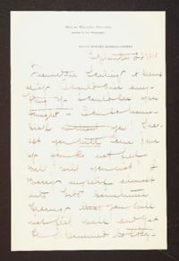 Letter from Mary Woolley to Jeannette Marks, 1910 September 22