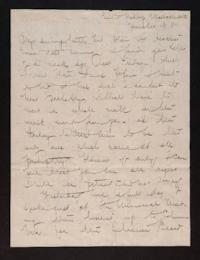 Letter from Mary Woolley to Jeannette Marks, 1910 November 13