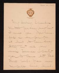 Letter from Mary Woolley to Jeannette Marks, 1910 December 27