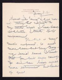 Letter from Mary Woolley to Jeannette Marks, 1911 January 8