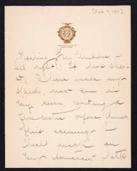 Letter from Mary Woolley to Jeannette Marks, 1911 February 7