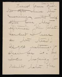 Letter from Mary Woolley to Jeannette Marks, 1911 December 6