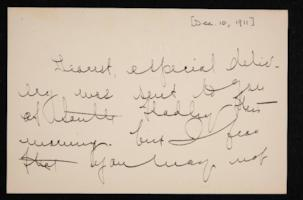 Letter from Mary Woolley to Jeannette Marks, 1911 December 10