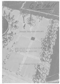 Mount Holyoke College Annual Catalog, 1970-1971