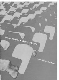 Mount Holyoke College Annual Catalog, 1972-1973