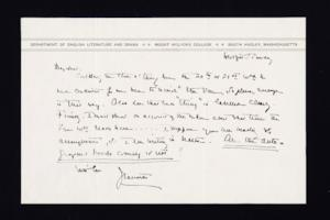 Letter from Jeannette Marks to Mary Woolley, 1937 July 14
