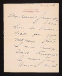 Letter from Mary Woolley to Jeannette Marks, 1913 November 12