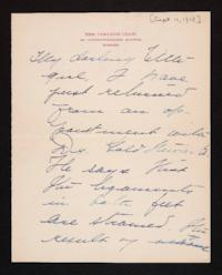 Letter from Mary Woolley to Jeannette Marks, 1913 September 11