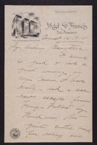 Letter from Mary Woolley to Jeannette Marks, 1915 August 12