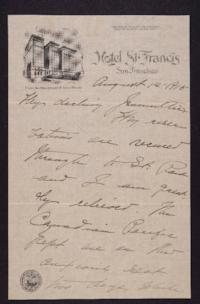 Letter from Mary Woolley to Jeannette Marks, 1915 August 14