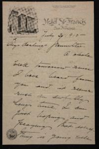 Letter from Mary Woolley to Jeannette Marks, 1915 July 30