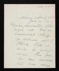 Letter from Mary Woolley to Jeannette Marks, 1915 September 14