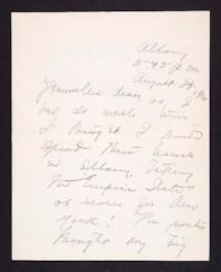 Letter from Mary Woolley to Jeannette Marks, 1916 August 29