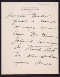 Letter from Mary Woolley to Jeannette Marks, 1917 April 26