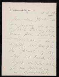 Letter from Mary Woolley to Jeannette Marks, 1921 May 18
