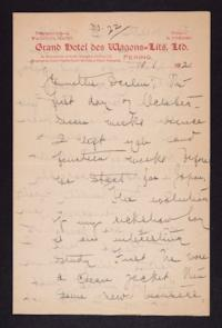 Letter from Mary Woolley to Jeannette Marks, 1921 October 1