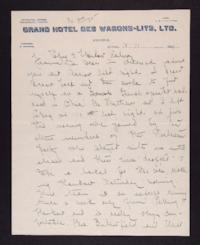 Letter from Mary Woolley to Jeannette Marks, 1921 October 11