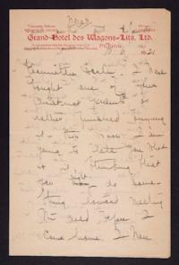 Letter from Mary Woolley to Jeannette Marks, 1921 October 6