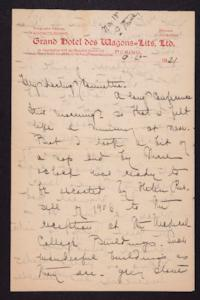 Letter from Mary Woolley to Jeannette Marks, 1921 September 15