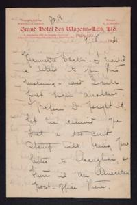 Letter from Mary Woolley to Jeannette Marks, 1921 September 18