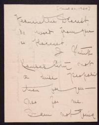 Letter from Mary Woolley to Jeannette Marks, 1922 March 26