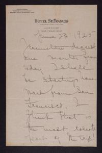 Letter from Mary Woolley to Jeannette Marks, 1925 June 23