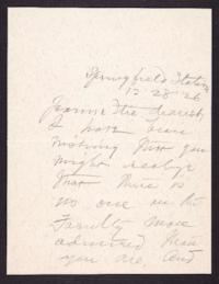 Letter from Mary Woolley to Jeannette Marks, 1926 December 28