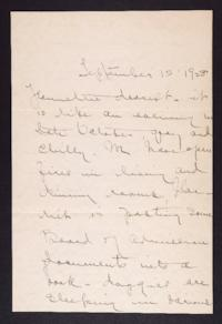 Letter from Mary Woolley to Jeannette Marks, 1928 September 12