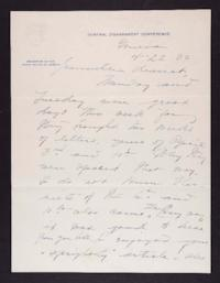 Letter from Mary Woolley to Jeannette Marks, 1932 April 22