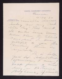 Letter from Mary Woolley to Jeannette Marks, 1932 April 29