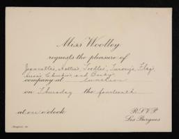 Letter from Mary Woolley to Jeannette Marks, 1932 April-July