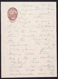 Letter from Mary Woolley to Jeannette Marks, 1932 February 14